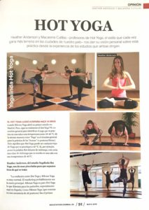 Yogalinda in Yoga Journal España