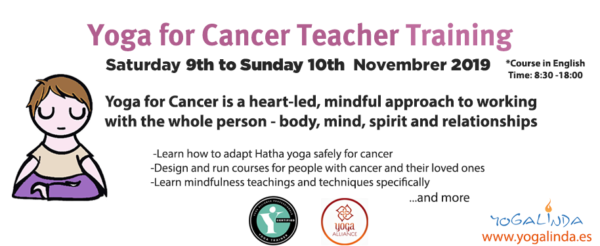 Yoga for cancer course